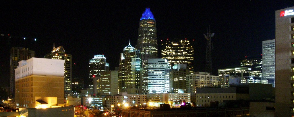 Skyline View of Charlotte - A Clinical / Medical Massage Therapy School in Charlotte, North Carolina