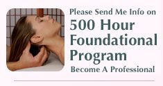 Send Info For 500 Hour Program