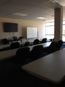 Classroom at NCSAB Medical Massage Theary School in Charlotte, NC